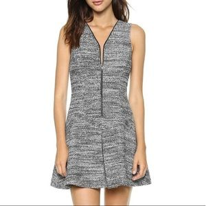THEORY Tillora K Tweed Fit & Flare A Line dress